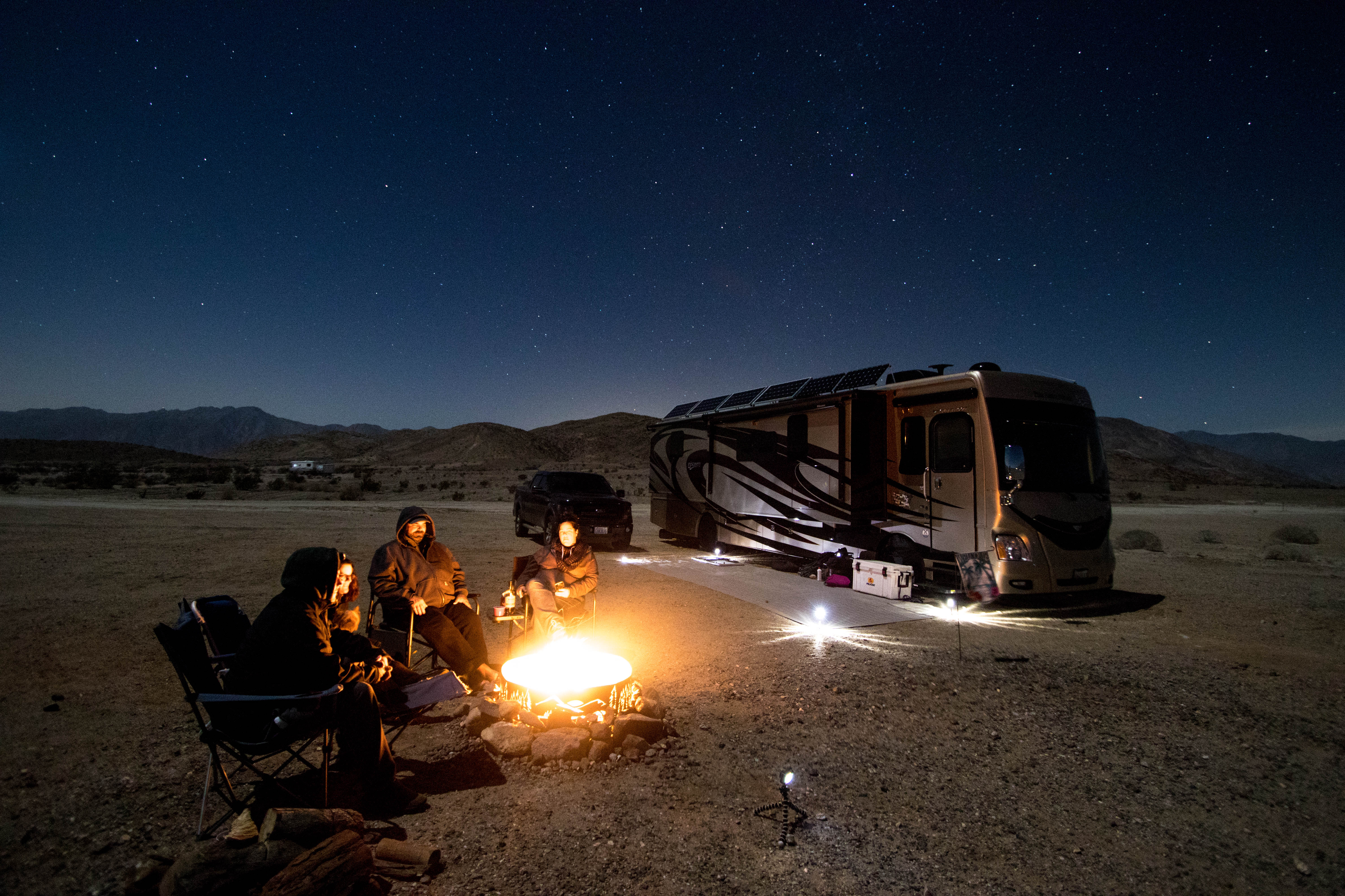 W1 - Camping with friends makes RVing that much better.