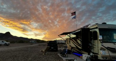 Dome Rock Mountain BLM 14-Day Free Camping