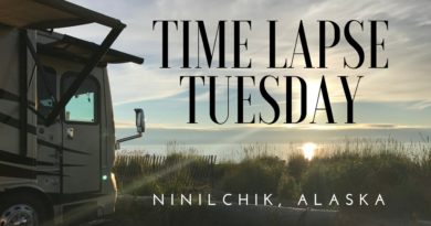 Timelapse Tuesday: Beachside camping overlooking Cook Inlet in Ninilchik Alaska