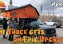 Installing a CVT Roof Top Tent on our F150 Truck #CVTtent #CVTFamily #RTT