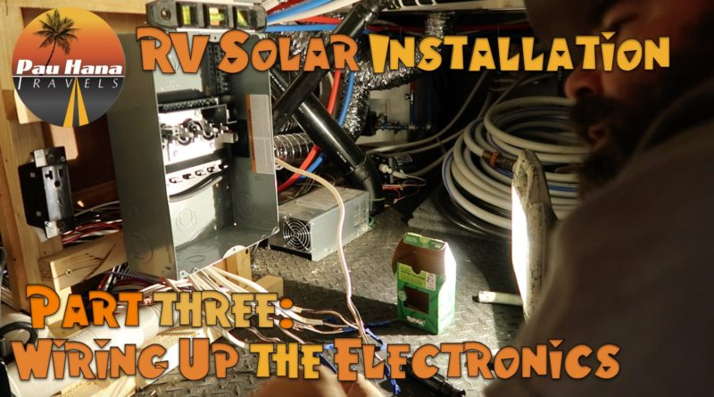 Marvelous Rv Solar Installation Part 3 Installing Solar Controller Bkm And Wiring Cloud Oideiuggs Outletorg