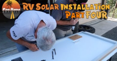 RV Solar Installation – Part 4: Connecting Solar Controller, Sub Panel & Prepping the Panels  🚐🌞